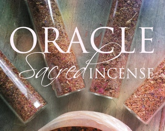 ORACLE; a sacred incense blend