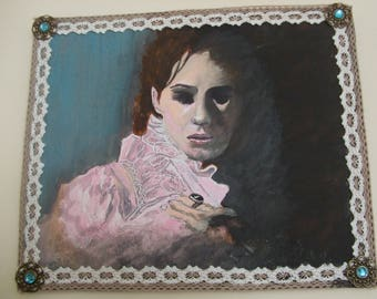 Original Painting of Josette DuPres from Dark Shadows