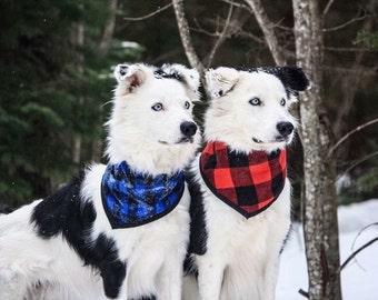 Ready to ship/dog scarf xs to xl/lumberjack/aerified/cottage/dogscarf/lumberjack/cottagestyle/ready to go/ready to ship / plaid