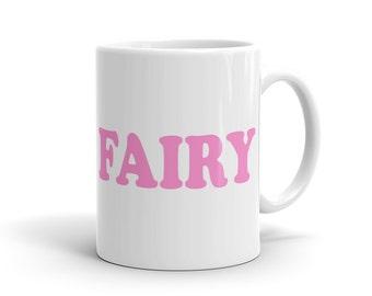 Cute Fairy Mug, Cute Tumblr Mug, Cool 90s Mug, 90s inspired Mug alternative Mug hipster Mug hipster gift for Hipster Cute Instagram #1104