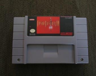 Final Fantasy II Super Nintendo SNES