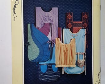 "Vintage "" Apron Makin"" A Pattern and Idea Book 1983"
