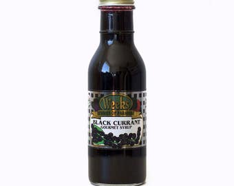 Black Currant Syrup, Gourmet - Utah's Own