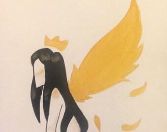 Angelic Queen Original Painting
