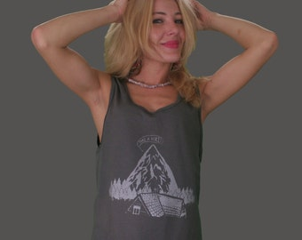 TAKE A HIKE! Screenprinted Tank Top
