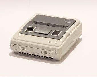 SNES / Super Famicom 3D printed case for Raspberry Pi Emulation System and Retrogaming