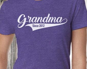 Grandma Since | Grandma Shirt