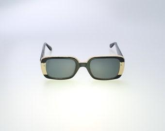 Vintage Black & White Sunglasses designed by Vogue