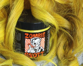 "ZOMBIE SNOTT ""Oh Hell Yellow"" Brand New long-lasting hair color to DYE for! 4oz"