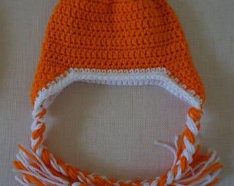 Crochet Kids Earflap Hat