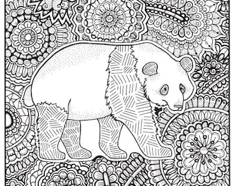 Panda Family Etsy