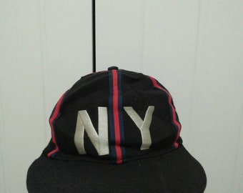 Rare Vintage STARTER NY   New York Embroidered Cap Hat Free size fit all Made in USA