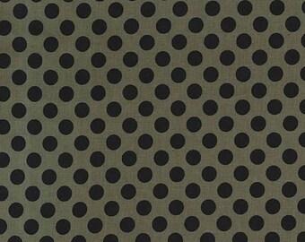 Tobacco Ta Dot  - HALF YARD - Michael Miller - Cotton Fabric - Quilting Fabric