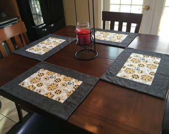 Sunflower Placemats-Set of 6