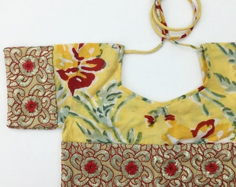 5 Years Skirt SET, Frida Block Print Crop Top and Maxi Skirt, Hippie Toddler Skirt, Organic Kids Clothing, Toddler Crop Set
