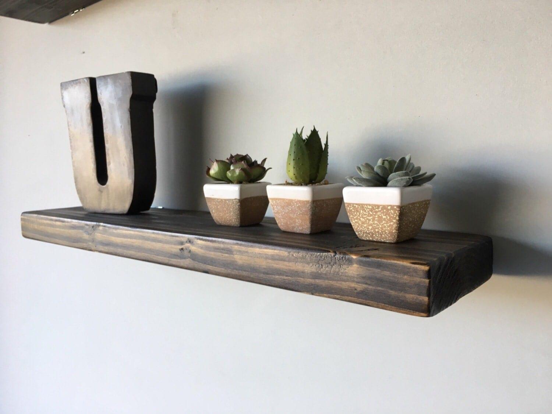 shipping rustic floating shelves floating shelf. Black Bedroom Furniture Sets. Home Design Ideas