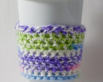 Cup Sleeve - Spun Sugar Stripe