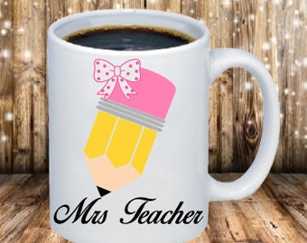 Pencil Teacher Coffee Mug