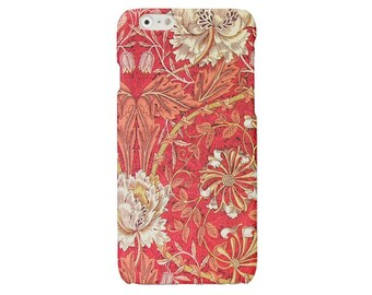 Red floral iPhone case flower iPhone 5 6 7 art iPhone 6 7 plus cover iPhone SE iPhone 4 4S case Samsung Galaxy S7 S4 S5 S6 case illustration