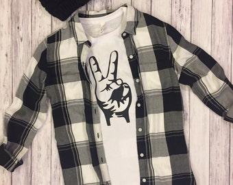 Peace, peace sign, peace shirt, womens shirts