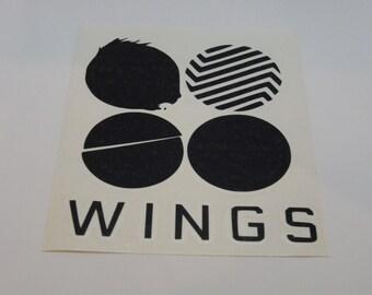 BTS Wings Decal