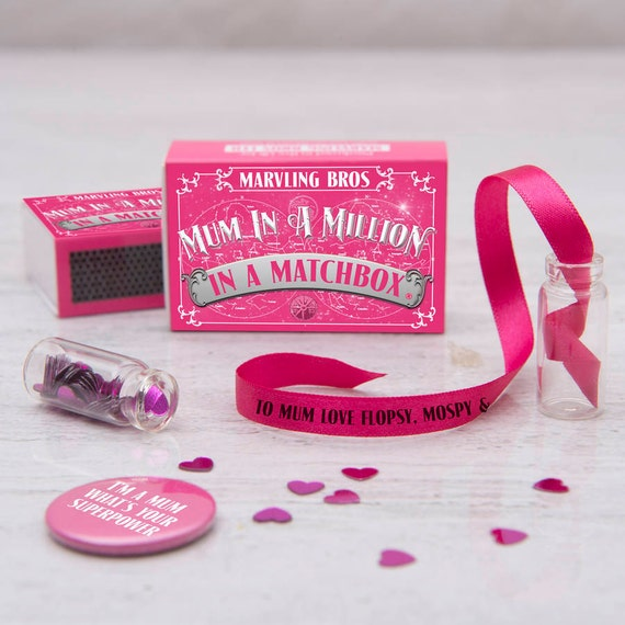 Personalised Message For Mum In A Matchbox