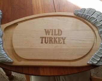 Wild Turkey Bourbon Whiskey Serving/Cutting Board