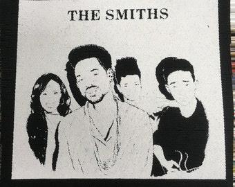Silkscreen Patch The Smiths Will Smith Parody