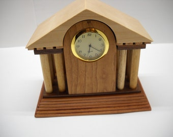 Desktop Clock with Secret Compartment