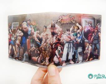 Vinyl Wallet - Street Fighter
