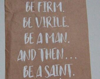 Home Decor- St. Josemaría Escrivá: Be a Saint