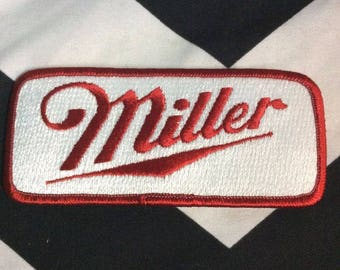 Large Miller High Life Patches Rectangle