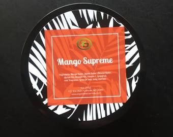 Mango Supreme Hair & Body Butter 4 oz.