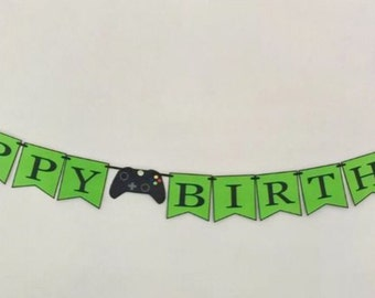 Xbox Happy birthday banner