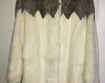 Rabbit Fur Coat • Korea