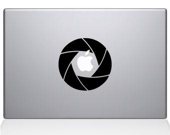 Camera Shutter Macbook Decal Macbook Vinyl Decal For Macbook Apple Laptop Sticker