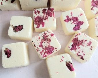 Luxury bubble bath truffles, rose, honey, bath melts, moisturizing, bubble bath, bath truffles