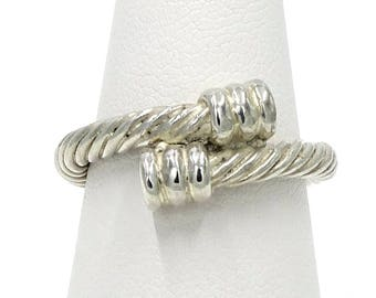 Sterling Silver Thick Cable Ring