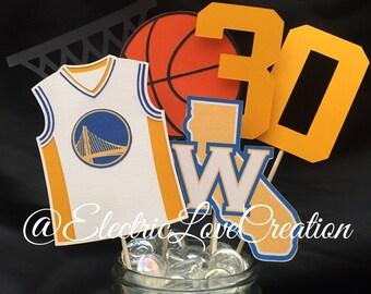Golden State Warriors Centerpieces Set
