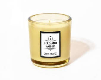 Bergamot Amber - Premium Soy Scented Candle 200g