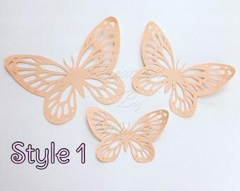 Paper butterfly cutouts, butterflies, butterfly, paper flower decor