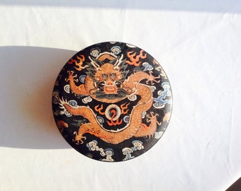 Chinese dragon metal pot from Hong Kong by Gianna Alan Chan design