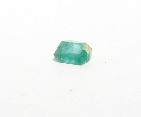 Sea Green Blue Tourmaline 2 33 Ct Roughparaiba Pencil