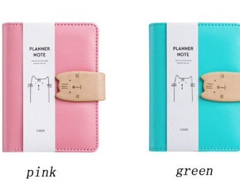 Preorder Japanese Import Cat Planner A7
