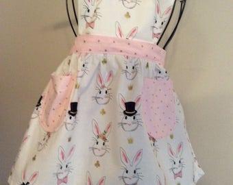 Child's apron, daughters apron, matching apron, child's bib apron
