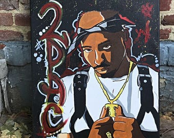 2pac painting