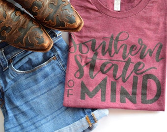 Southern State of Mind Graphic Tee