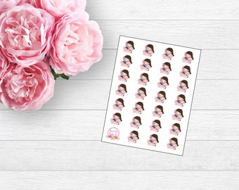 Lazy Day Gracie Planner Sticker (L18)