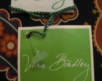 SALE Un Used BOOK COVER With Original Tag Vera Bradley Kensington - Perfect for a Bible And Your Favorite Reading