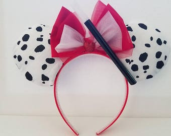 101 Dalmations inspired Minnie ears
